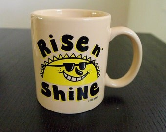 Rise N Shine Coffee Mug- Ryan Bubnis Art