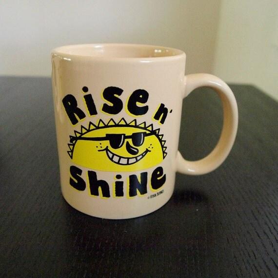 Rise N Shine Coffee Mug- Ryan Bubnis Art