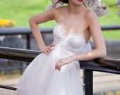 Cherry Bomb Silk Organza Wedding Dress