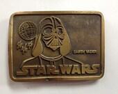 Vintage 'Darth Vader Star Wars' Belt Buckle