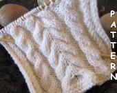 pdf Knitting Pattern - Cable Sampler Workshop