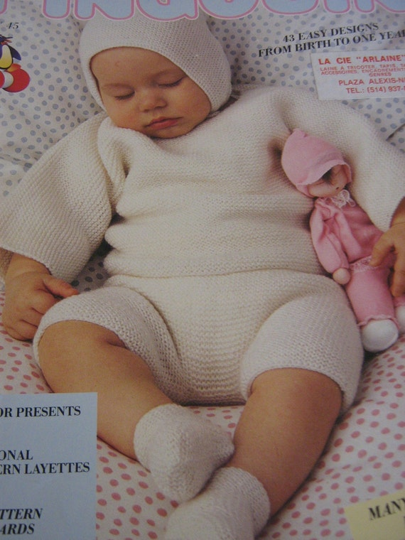 Pingouin Baby Knitting Pattern Book No. 45