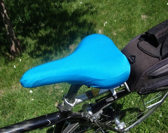 Bicycle Saddle Cover - STANDARD size - Turquoise