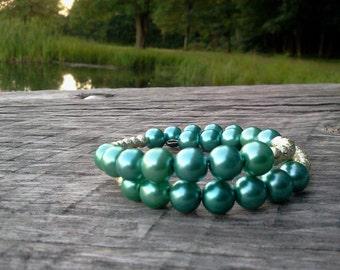 Blue Princess Wrap Bracelet