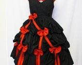 Sweetheart Ribbon and Bows Dress