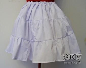 Loli's Petticoat in White
