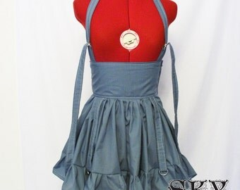 Custom D-Ring Pinafore