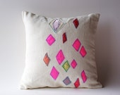 Funky diamonds are a girls........Pillow Cover