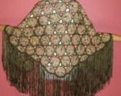Lotus Shawl Crochet Pattern via Download