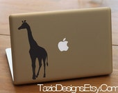 Giraffe - Apple Macbook Decal, Car Vinyl, Wall Art, Sticker, Zoo, Africa, Wildlife, jungle, Safari