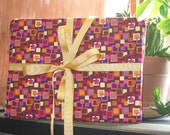 Holiday sale Reusable Giftwrap - Squares set