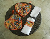 Witches Potholder Giftset for Mothers Day or Halloween