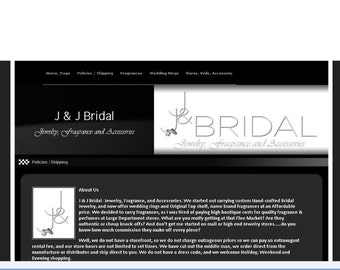 Basic 1 page website that comes with your domain  - If USING GODADDY