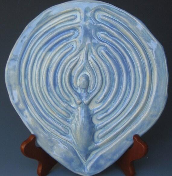 Lunar Goddess Finger Labyrinth-Lavender Blue-Reduced 20 percent