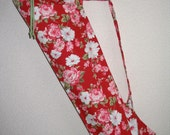 Roses on Red Yoga Mat Bag