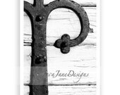 Letter P - Alphabet Photography Individual 4x6 Black and White Photo for Name Frames (P1)