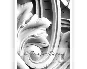 Letter J - Alphabet Photography Individual 4x6 Black and White Photo for Name Frames (J26)
