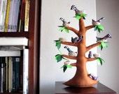 The tree of storks - Felt Tree