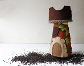 Brown Tower - Felt Tower