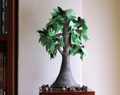 Eucaliptus Tree - Felt Tree. Home decor.
