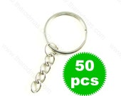 Key Chain with Split Ring - 50 pieces SK009