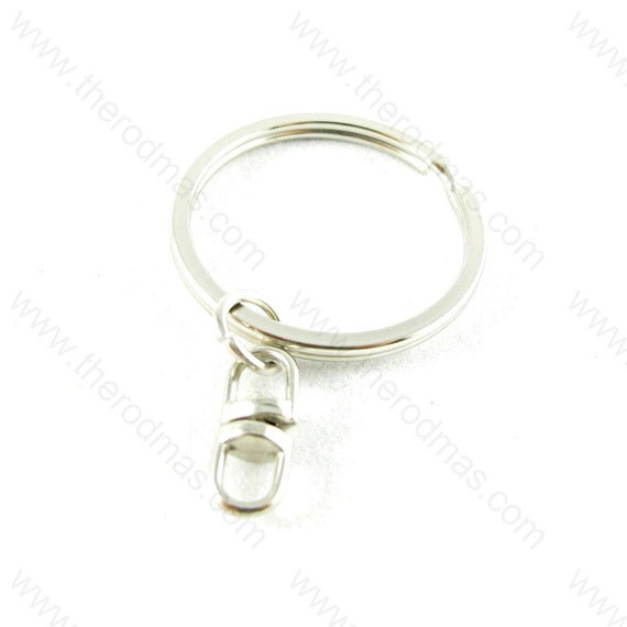 Key Chain with Swivel Attachment and Split Ring - 20 pieces SK012