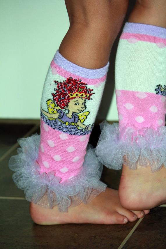 Fancy Nancy Bunny Legs Girls Leg Warmers Perfect For