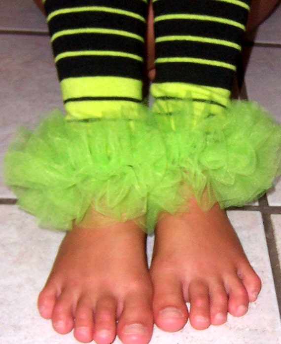 SPOOKY LIME / BLACK BUNNY LEGS - PERFECT FOR HALLOWEEN - WITCH COSTUME