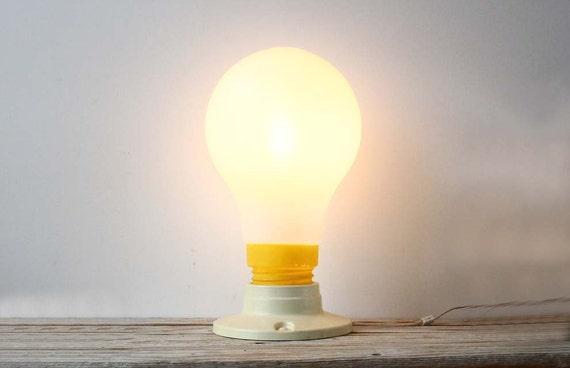 Modern Pop Art Oversized Light Bulb Lamp