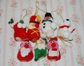 Vintage Peaceable Kingdom Pom Pon Ornaments