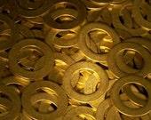 Brass Washers - 22 gauge