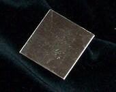 Sterling Silver Squares - 24 Gauge, stamping blanks, metal stamping blanks, square blanks, sterling sheet, Bopper, rectangular blanks