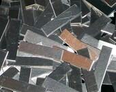 Aluminum Tags - 18 Gauge, stamping blanks, metal blanks, rectangles, aluminum strips, hypo-allergenic, aluminum bar blanks