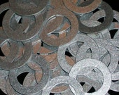 Aluminum Washers  - 20 Gauge, stamping blanks, metal blanks, hypo-allergenic, food safe