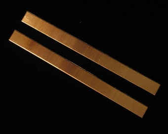 Bronze Cuffs - 18 Gauge, stamping blanks, metal blanks, bracelet blanks, cuff blanks, arm band blanks