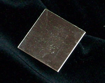 Sterling Silver Squares - 24 Gauge, stamping blanks, metal stamping blanks, square blanks, sterling sheet, Bopper, rectangular blanks