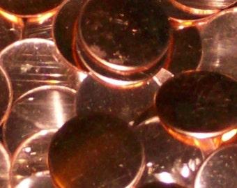Copper Discs  - 22 Gauge, stamping blanks, metal stamping blanks, stamping disc, stamping disk, stamping rounds, Bopper, hand stamping blank