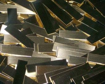 Brass Tags - 16 Gauge, stamping blanks, metal strips, wrap ring blanks, stamping strips, metal blanks