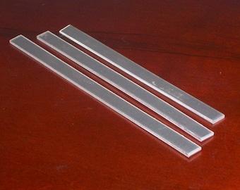 Aluminum Cuffs - 14 gauge, stamping blanks, metal blanks, cuff blanks, bracelet blanks, hypo-allergenic, food safe, Bopper