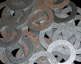 Aluminum Washers  - 16 Gauge, stamping blanks, metal blanks, Bopper, washer blanks, stamping rounds, hypoallergenic, aluminum disks,