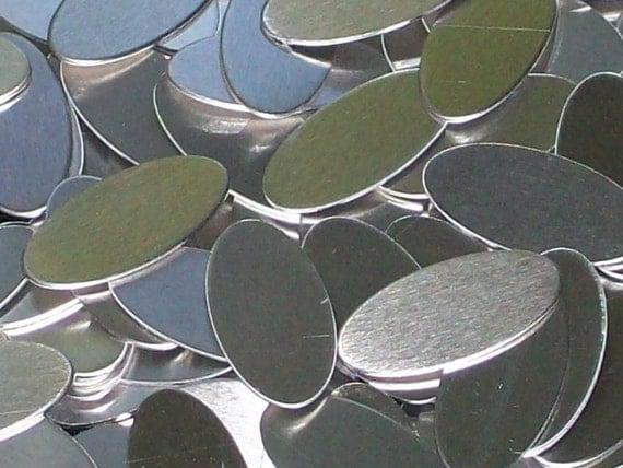 Aluminum  Ovals - 18 Gauge, stamping blanks, metal blanks, hypo-allergenic, food safe