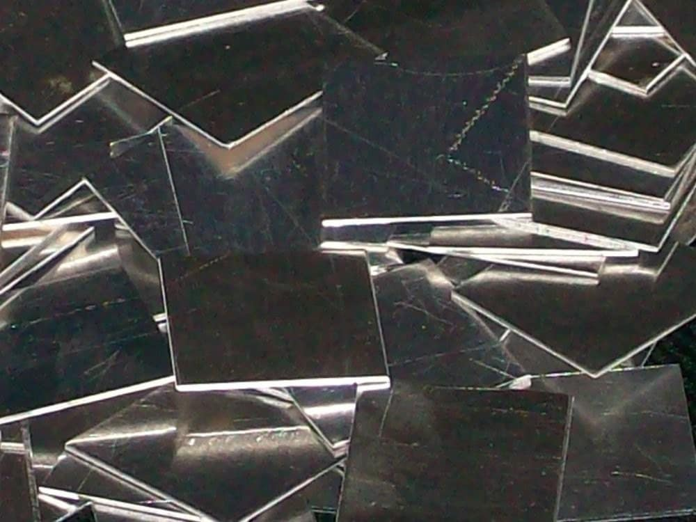 Aluminum Squares 12 Gauge From Bopper On Etsy Studio