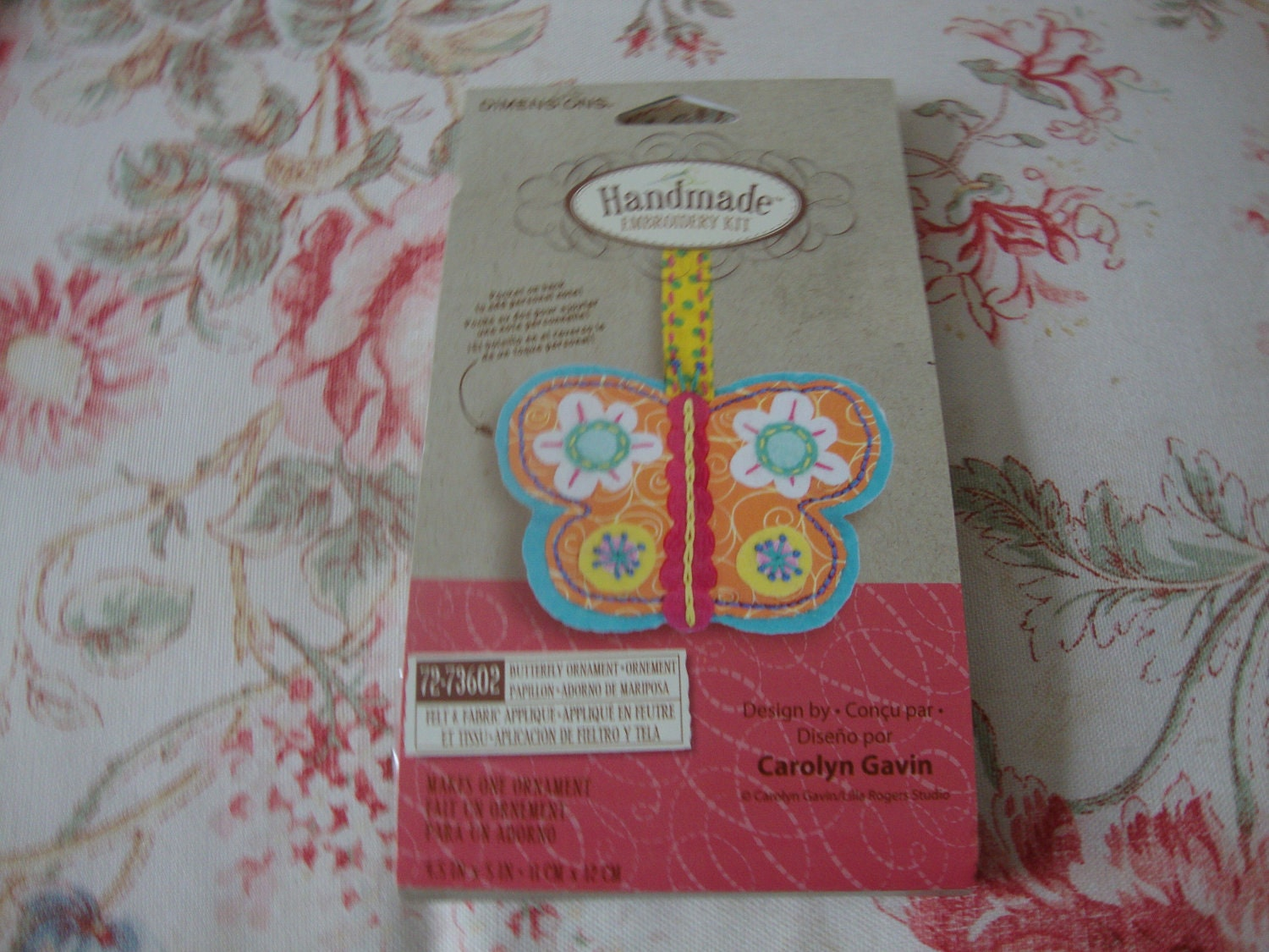 SALE Hand Embroidery Kit Butterfly
