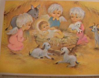 Vintage Penny Wise Christmas Post cards