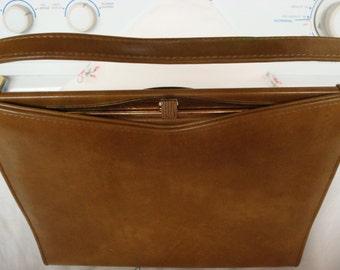 Vintage Camel Brown handbag