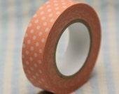 Japanese paper masking tape - Polka Dots Pink