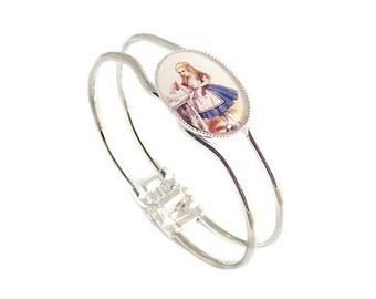 Alice in Wonderland bracelet DRINK ME bangle