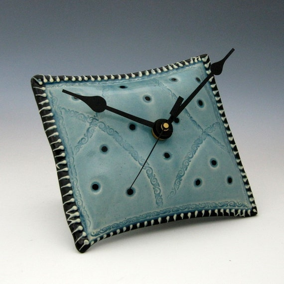 Wall Clock - Unique Pillow Shaped