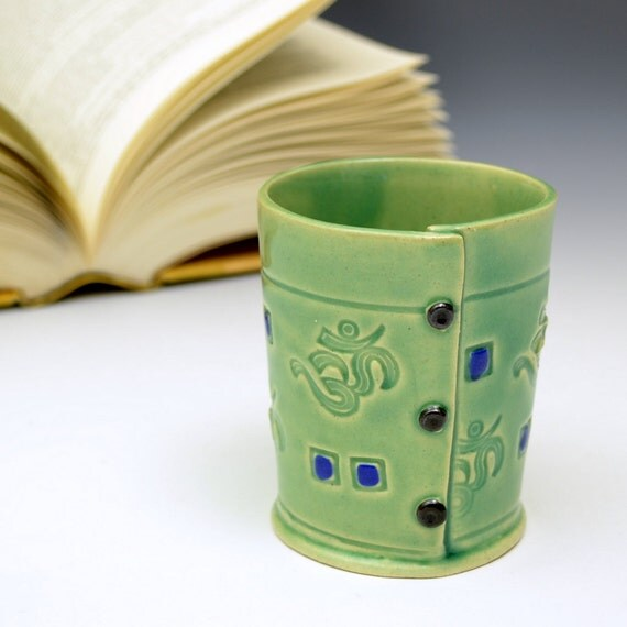 Little cup in Soft Green OM