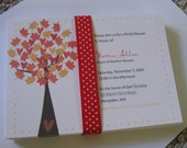 Fall Bridal Shower Invitations for jcoquet